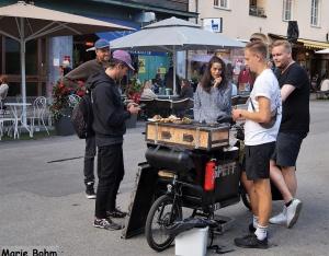 Mobil grill på Skånegatan