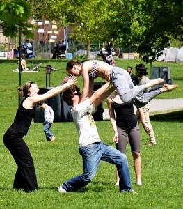 Akrobatikförsök i Tanto