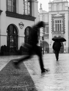 Hoppar i Krakow