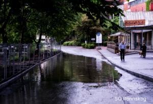 SOR Översvämning Gustavlundsvägen
